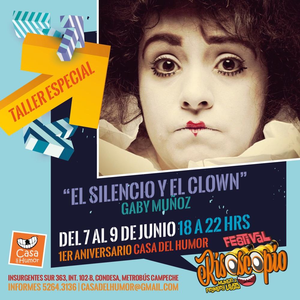 Gaby Muñoz - 7,8 y 9 de Junio - Casa del Humor
