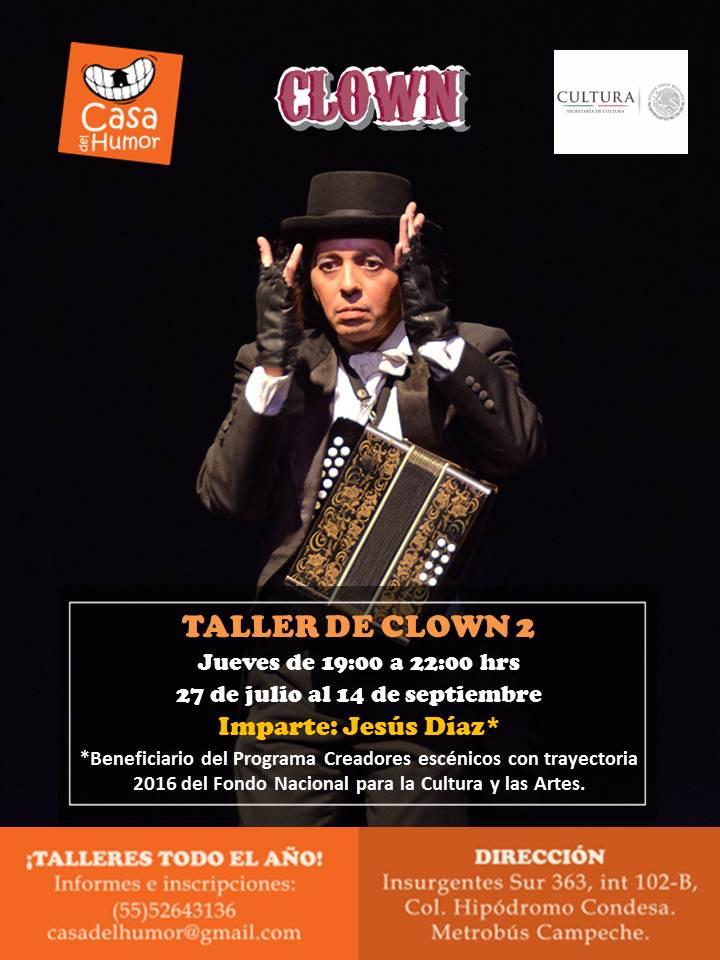 Clown 2 - Jesús Díaz - 27 de julio al 14 de septiembre