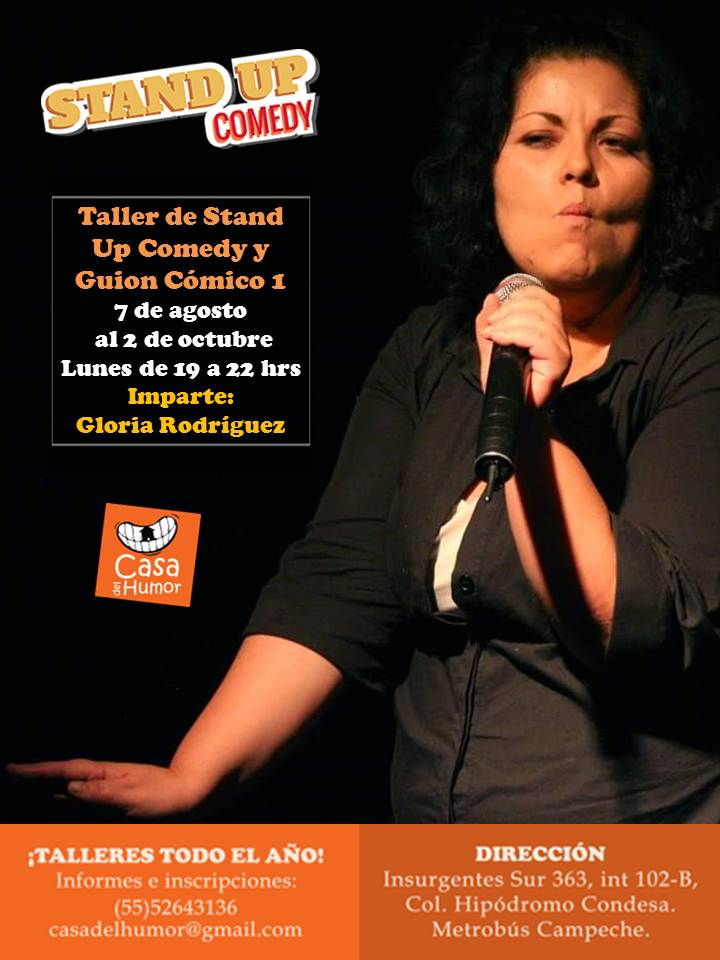 Stand Up 1 - Gloria Rodríguez - Agosto 2017