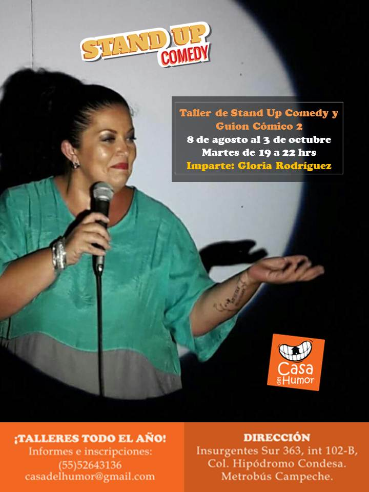Stand Up 2 - Gloria Rodríguez - Agosto 2017