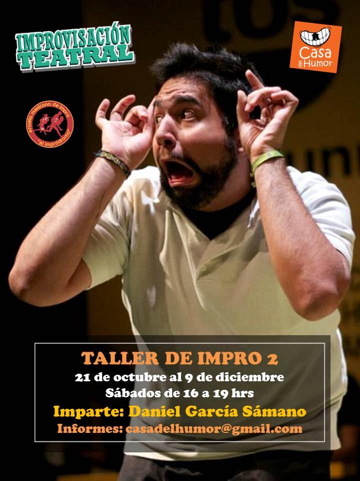 Taller Impro 2 - Daniel García - Octubre a Diciembre 2017.JPG