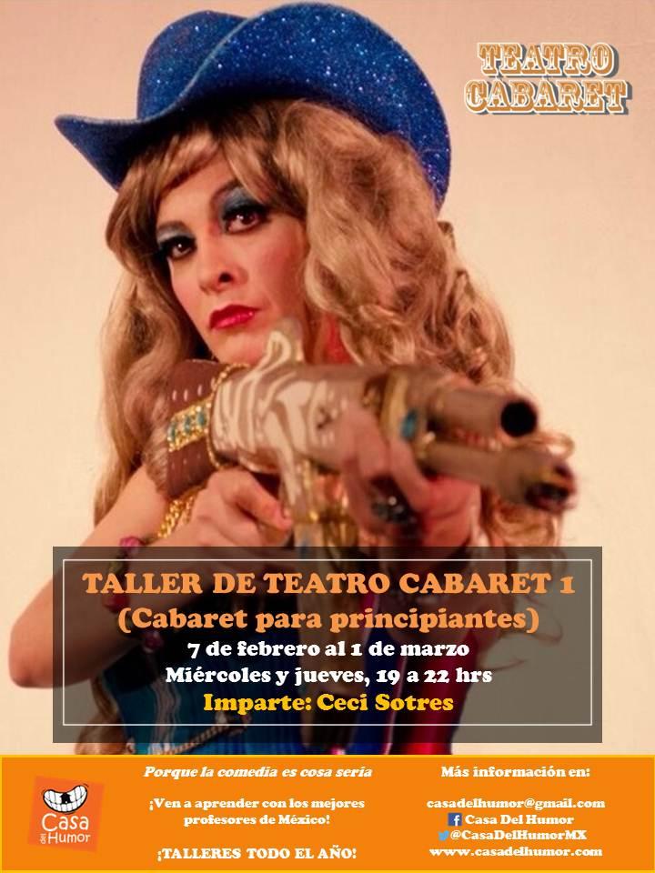 Taller de Cabaret 1 - Ceci Sotres