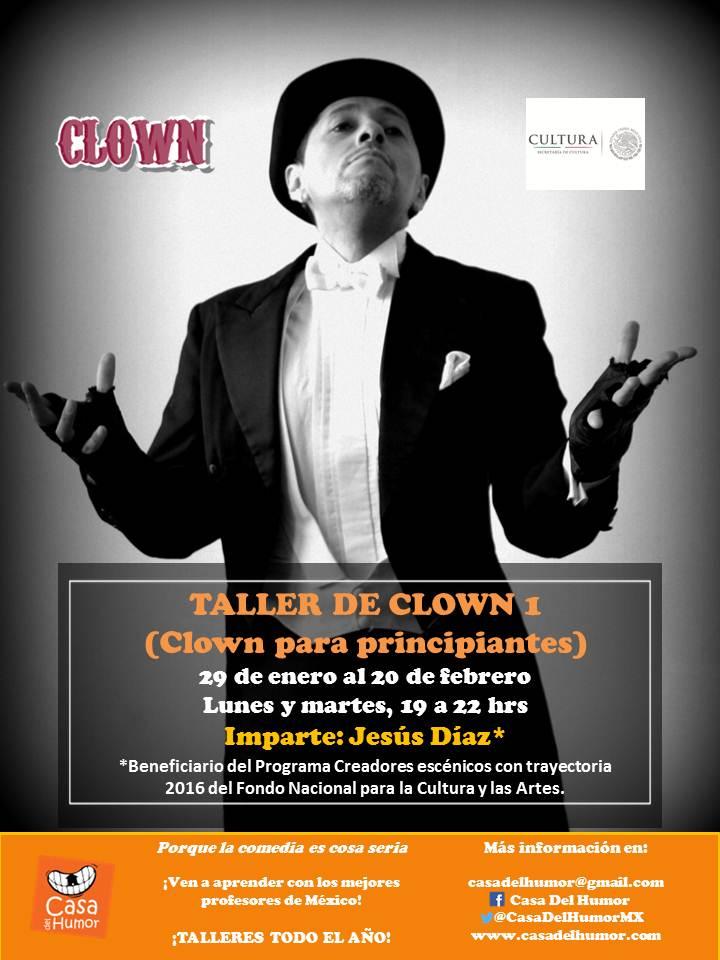 Taller de Clown 1 - Jesús Díaz (becario del FONCA)