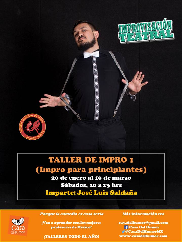 Taller de Impro 1 - José Luis Saldaña