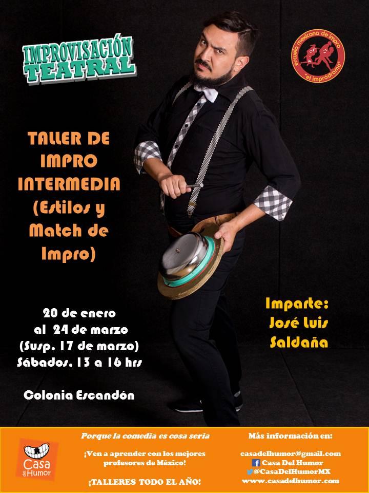 Taller de Impro intermedia 2018 - José Luis Saldaña