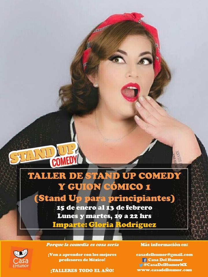 Taller de Stand up 1 - Gloria Rodríguez