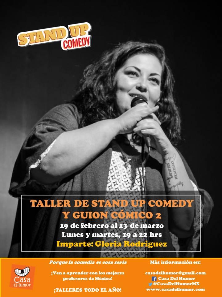 Taller de Stand Up 2 - Gloria Rodríguez - Febrero 2018