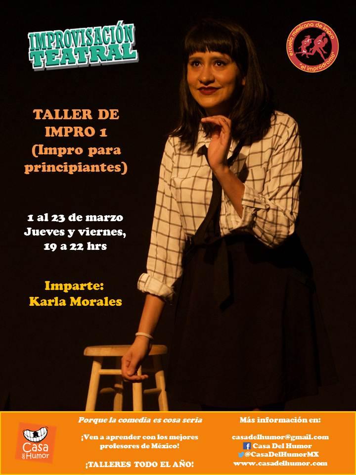 Taller Impro 1 - Karla Morales - Marzo 2018