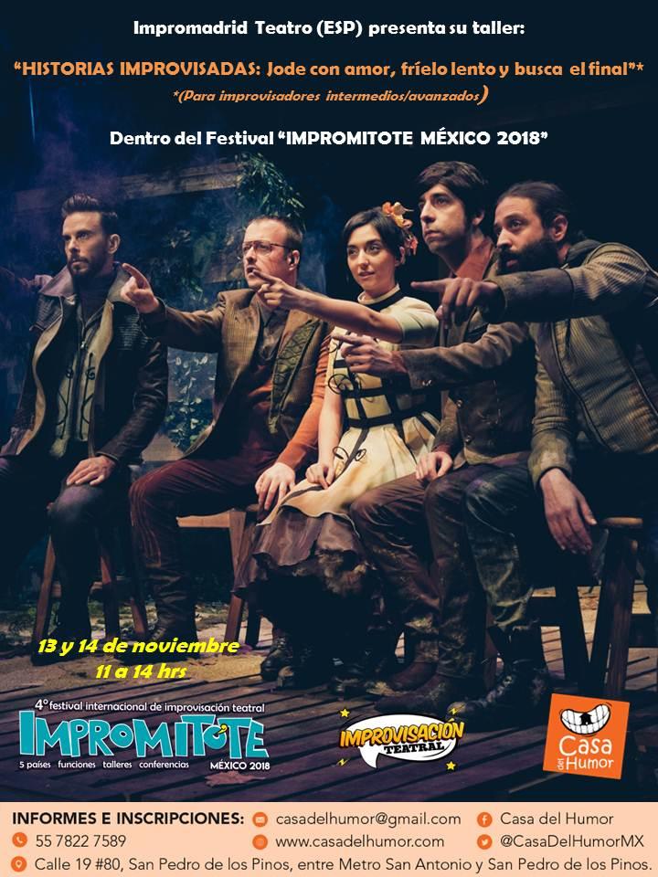 Taller Impromadrid Teatro (España) - 13 y 14 de noviembre