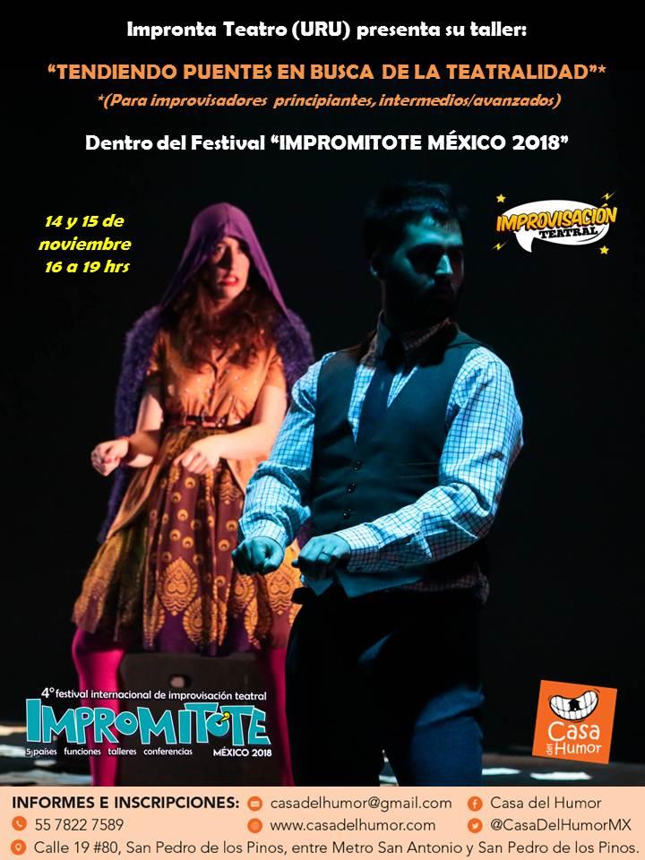 Taller Impronta Teatro (Uruguay) - 14 y 15 de noviembre