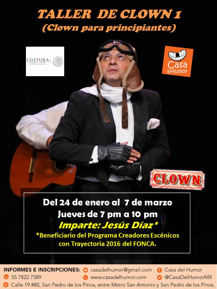 taller clown 1 - jesús díaz - enero 2019