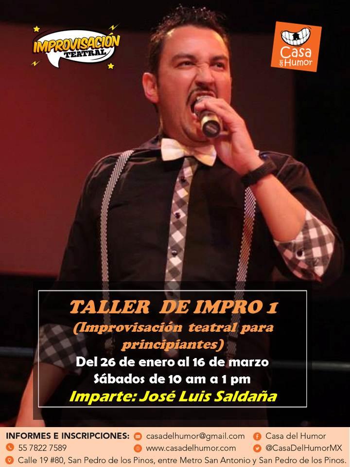taller impro 1 - josé luis saldaña - enero 2019