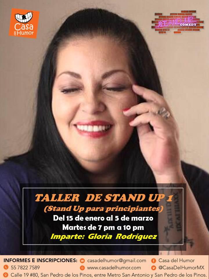 taller stand up 1 - enero 2019 - gloria rodríguez