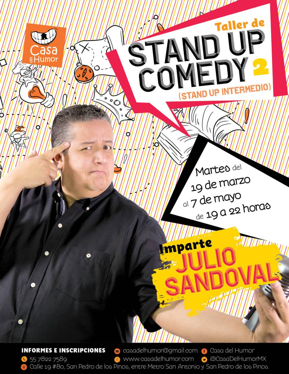 Stand Up 2 - Julio Sandoval - Marzo 2019