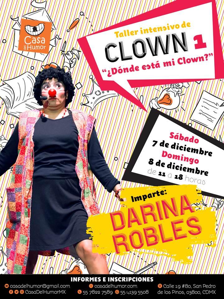 Taller Intensivo de Clown 1 - Darina Robles