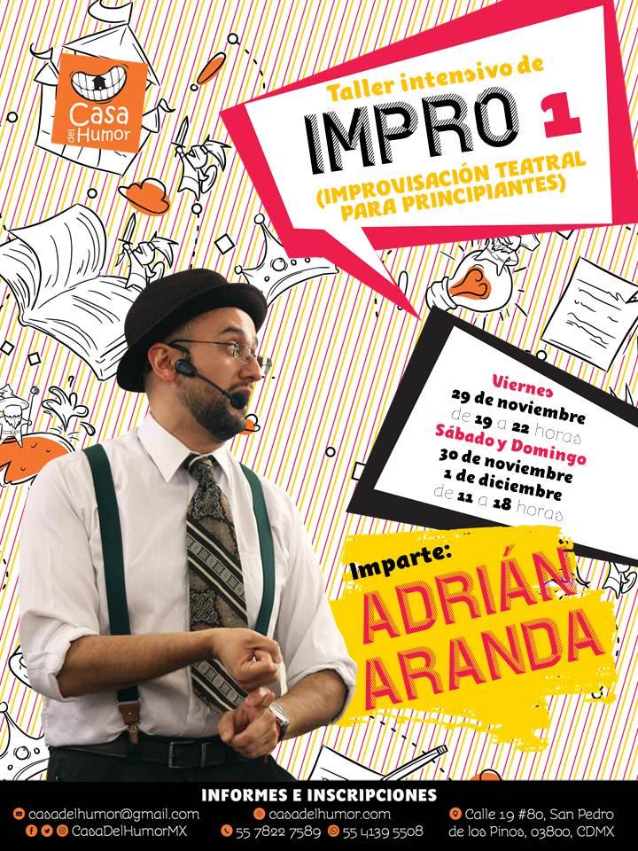 Taller intensivo de Impro 1 - Adrián Aranda