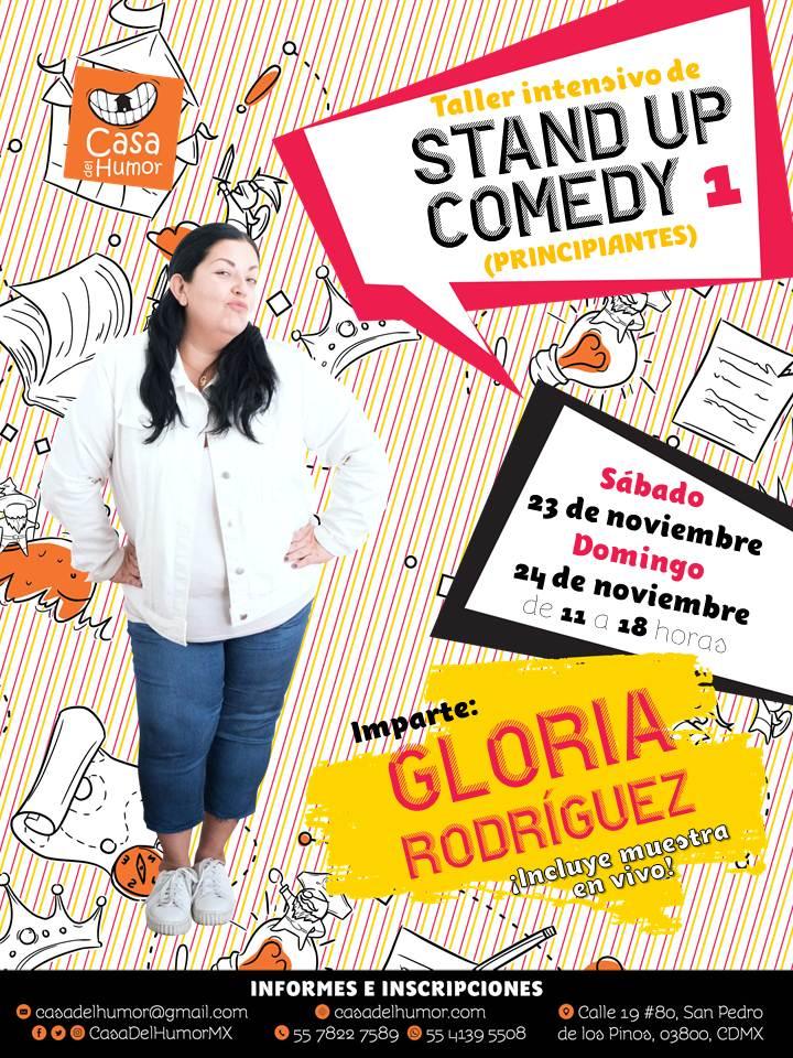 Taller Intensivo de Stand Up Comedy 1 - Noviembre 2019