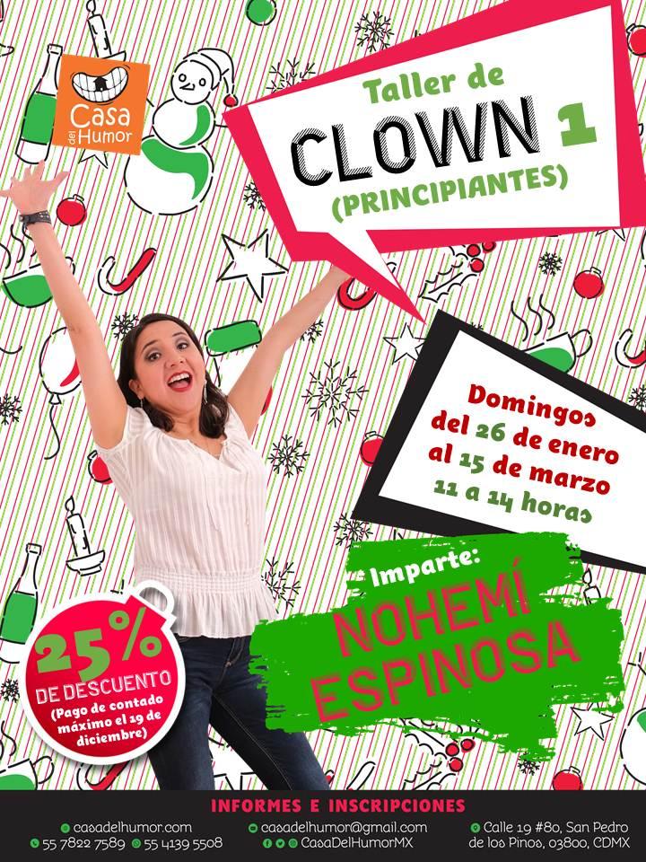Clown 1 - Nohemí Espinosa - Promo Navideña