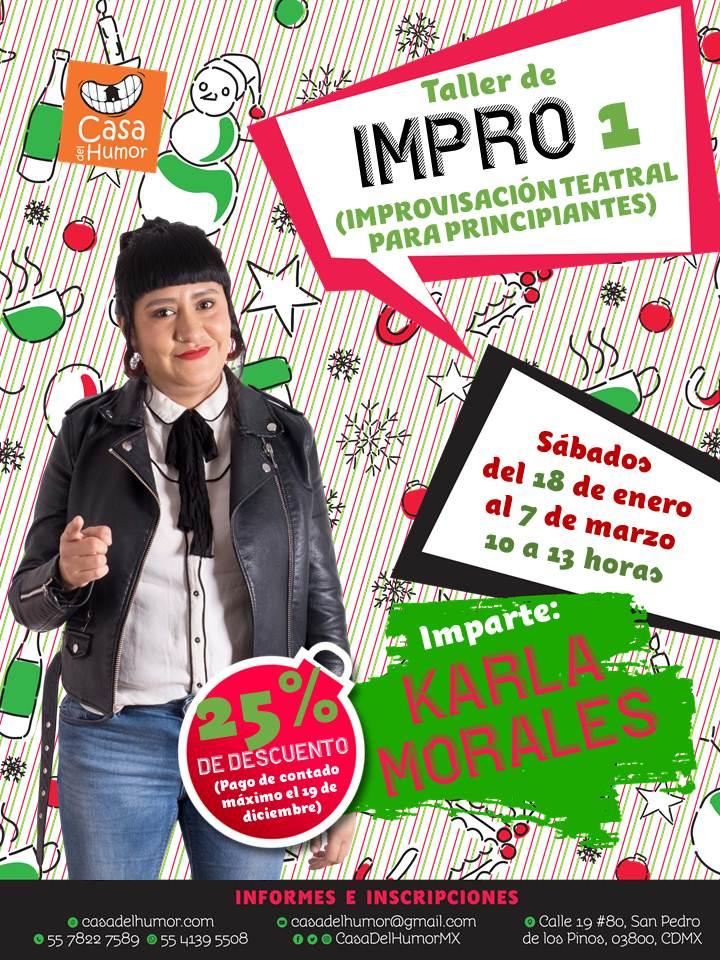 Impro 1 - Karla Morales - Promo Navideña