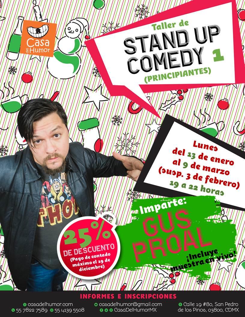 Promo navideña - Stand Up Comedy 1 - Gus Proal